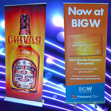 Advertising Pull up banner