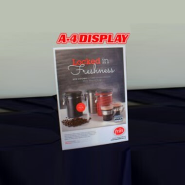 A-4 Display printing