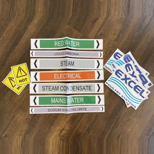 Industry sticker printing service