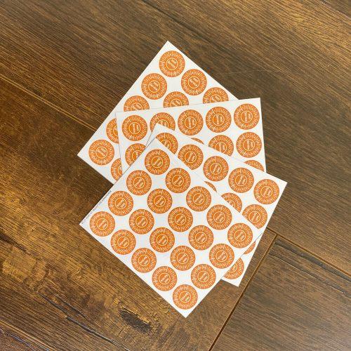 Circular Sticker Printing