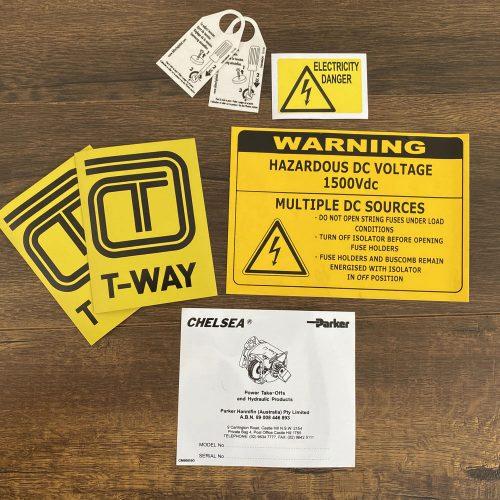 Electricity Sticker Printing